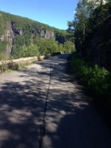 sykkelveie opp Måbødalen